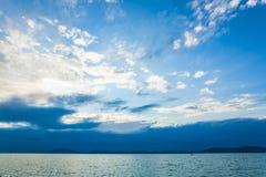 Das blaue Meer Stockbilder