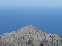 Das blaue Meer Lizenzfreies Stockbild