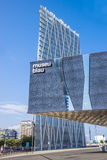 Das blaue Museum von Barcelona Lizenzfreie Stockfotografie