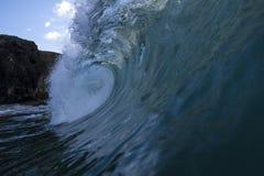 Das blaue spanische Loch Stockfotos