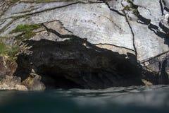 Das blaue spanische Loch Stockfoto