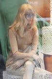 Das blinde Mannequin des Schneiders Stockfotografie