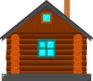 Das Blockhaus Stockbild
