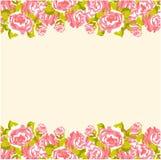 Das Blumenblatt der Rosen lizenzfreie abbildung