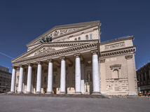 Das Bolshoi-Theater in Moskau Stockfoto