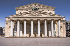 Das Bolshoi-Theater in Moskau stockfotografie