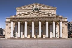 Das Bolshoi-Theater in Moskau Stockfotografie