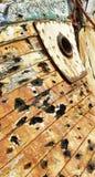 Das Boot der alten Fischer Stockfotos