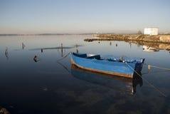 Das Boot des Fischers Stockfoto