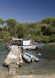 Das Boot des Fischers lizenzfreie stockfotografie