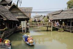 Das Boot im watermarket Lizenzfreies Stockfoto