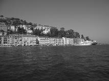 Das Boot in Porto Santo Stefano stockbild