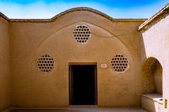 Das Borujerdi-Haus ist ein historisches Haus in Kashan, der Iran Das Haus wurde im Jahre 1857 vom Architekten Ustad Ali Maryam, f Stockbild