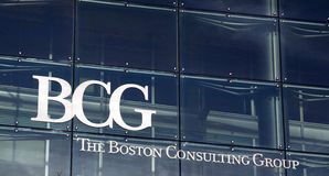 Das Boston Consulting Group BCG Stockfotos