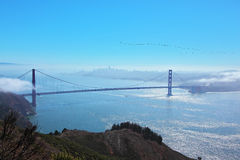 Das Brücke Golden Gate Stockbild