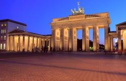 Das Brandenburger Tor Stockbild