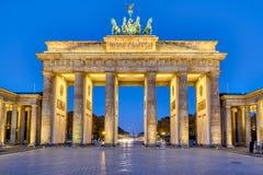 Das Brandenburger Tor in Berlin lizenzfreies stockbild