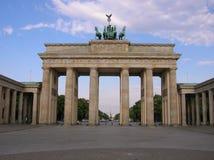 Das Brandenburger Tor von Berlin lizenzfreie stockbilder