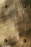 Das braune Blech Stockfoto