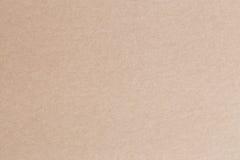 Das braune Papier ist leerer, abstrakter Papphintergrund Lizenzfreie Stockbilder