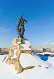 St. - Petersburg im Winter Stockbilder