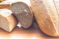 Das Brot in der Küche stockfoto
