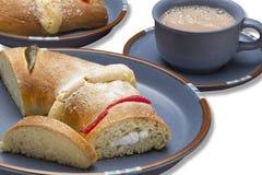 Das Brot von Königtag stockbild