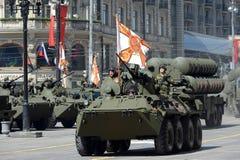 Das BTR-82A ist ein russisches 8x8 fahrbares amphibisches gepanzertes MTW (APC) Stockbild