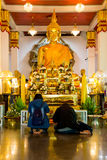 Das Buddha-Bild von Sakon NakhonWat Phra dieser Choom-Kumpel Lizenzfreie Stockfotografie