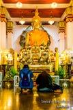 Das Buddha-Bild von Sakon NakhonWat Phra dieser Choom-Kumpel Lizenzfreie Stockfotos