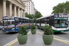 Das Buenos Aires Metrobus, Argentinien lizenzfreie stockbilder