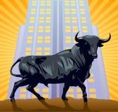 Das Bull Stockbild