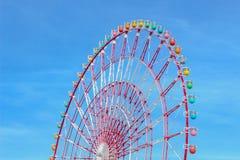Das bunte Riesenrad stockfoto