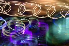 Das bunte von Licht 1 stockbild