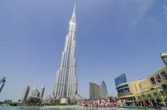 Das burj khalifa Stockfotografie