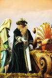 Das Cabalgata los Reyes Magos Stockbilder