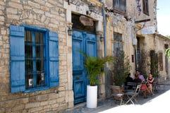 Das Café im Freien Stockfotos