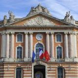 Das Capitole von Toulouse - Frankreich-Tourisme lizenzfreie stockfotos