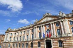 Das Capitole von Toulouse - Frankreich-Tourisme lizenzfreies stockfoto