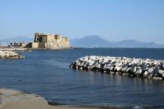 Das castel dell'ovo Lizenzfreie Stockfotos