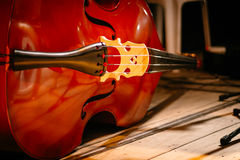 Das Cello lizenzfreies stockfoto