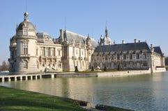 Das Château De Chantilly Stockfoto