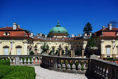 Das Chateau Buchlovice in der Tschechischen Republik Lizenzfreies Stockbild