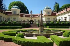 Das Chateau Buchlovice - Tschechische Republik Lizenzfreie Stockbilder