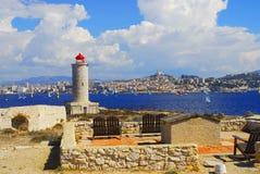 Das Chateau d ` wenn, Marseille stockbild