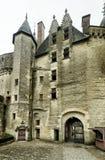 Das Chateau de Langeais, altes Schloss in Frankreich lizenzfreie stockfotos