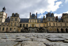 Das Chateau Fontainebleau Stockfotos