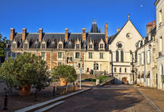 Das Chateau Royal de Blois Stockbild