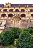 Das Chateau Royal de Blois, Frankreich Stockbild