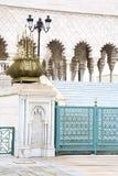 das chellah in Marokko Afrika altes römisches verschlechtertes MO lizenzfreie stockbilder